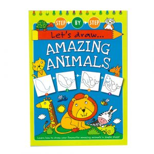 Let's Draw Amazing Animals Activity Book