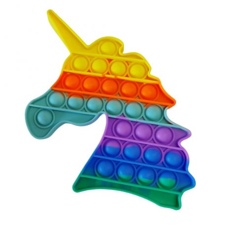Rainbow Unicorn Pop It Fidget Toy