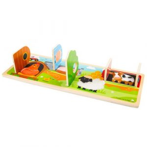 Wooden On The Farm Sensory Board