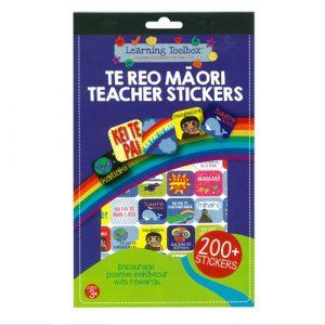 Te Reo Maori Teacher Sticker Pad