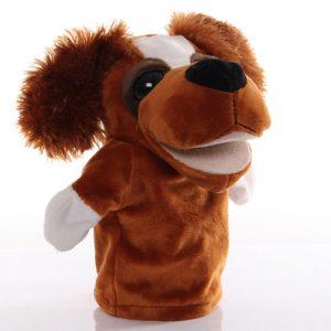 Dog hand puppet - large