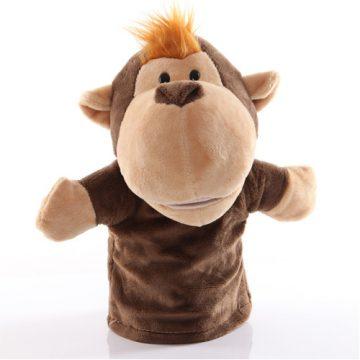 Monkey hand puppet - large