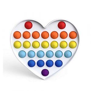 Alphabet Heart Pop It Fidget Toy