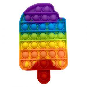Rainbow Iceblock Pop It Fidget Toy