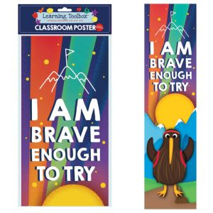Brave Enough To Try classroom poster