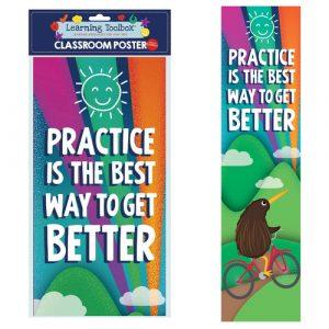 Practice Is Best Classroom Poster