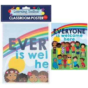 everyone is welcome here classroom poster