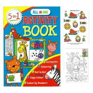 5 in 1 activity book