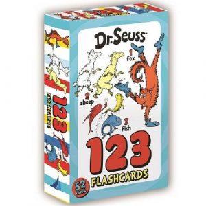 Dr Seuss 123 Flash Cards