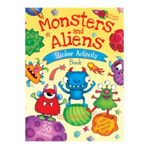 Monsters and Aliens Sticker Activity Book