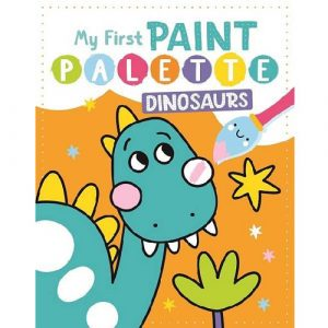 My First Paint Palette Dinosaurs