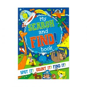 My Search and Find Book 32pg