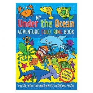 Under the ocean adventure colouring book