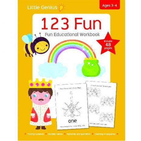123 Fun Educational Workbook