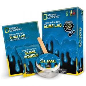 Glow In The Dark Blue Slime STEM Kit