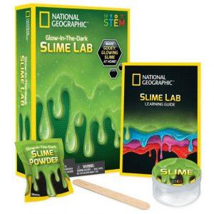 Glow In The Dark Green Slime STEM Kit