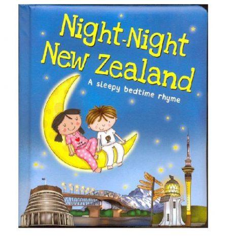 night night new zealand book